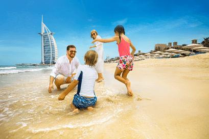 تفریحات خانوادگی در سفر به تور ارزان قیمت و لحظه آخری دبی
