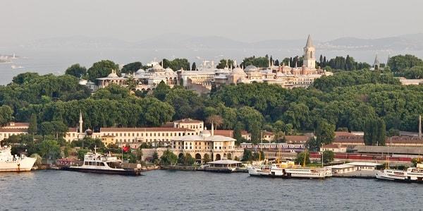 بهترین مکان های دیدنی استانبول - کاخ توپکاپی