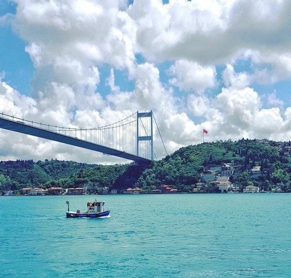 تنگه بسفورس از دلایل سفر به استانبول