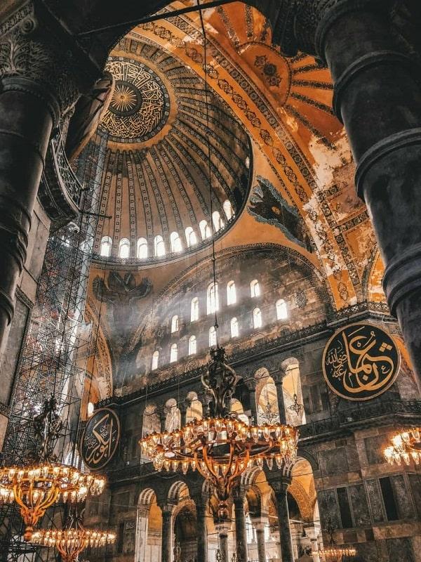 دیدنی های امپراطوری بیزانس از دلایل سفر به استانبول