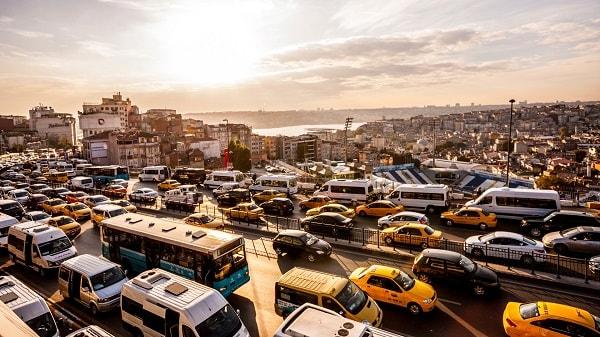ترافیک شهری استانبول