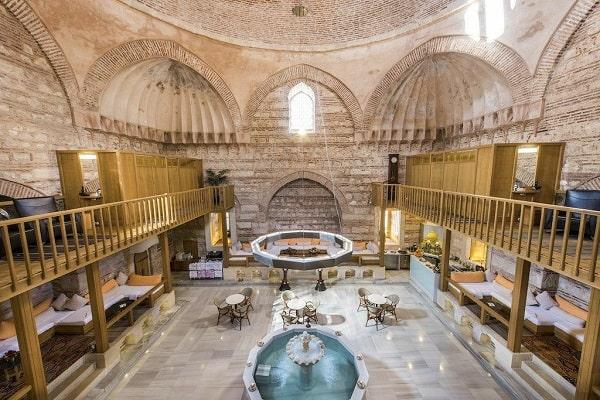 حمام ترکی از دلایل سفر به استانبول