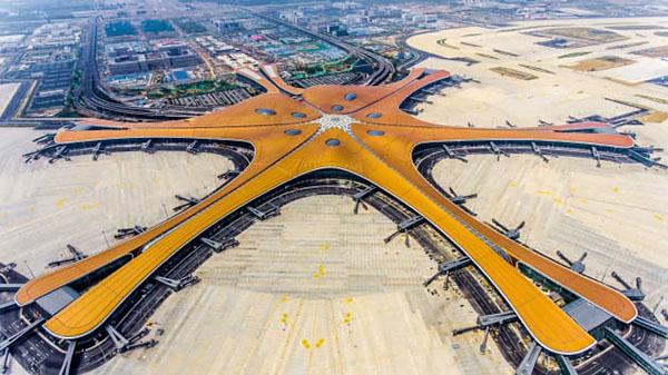 فرودگاه جدید دکسینگ پکن